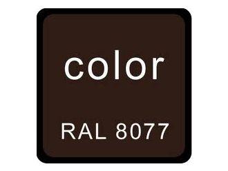 RAL 8077 bruin