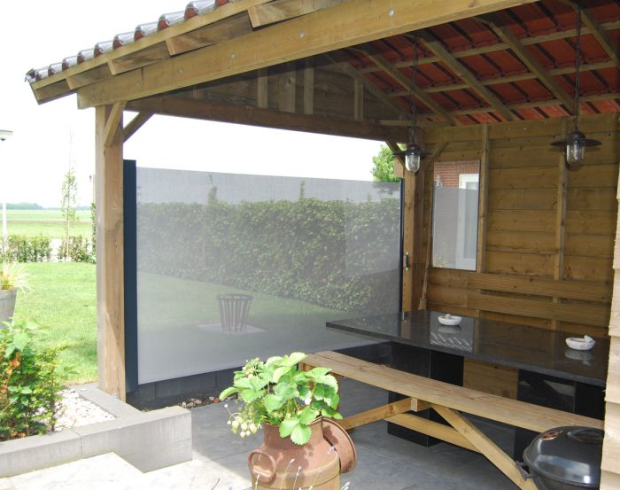 Tip voor in de tuin: windschermen met een moderne look